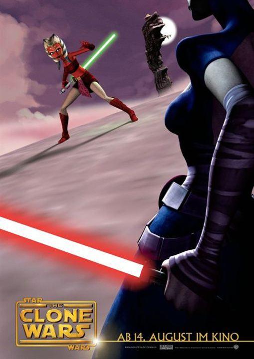 Star Wars: The Clone Wars : Affiche Dave Filoni