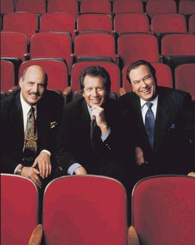 The Larry Sanders Show : Photo Garry Shandling, Jeffrey Tambor, Rip Torn