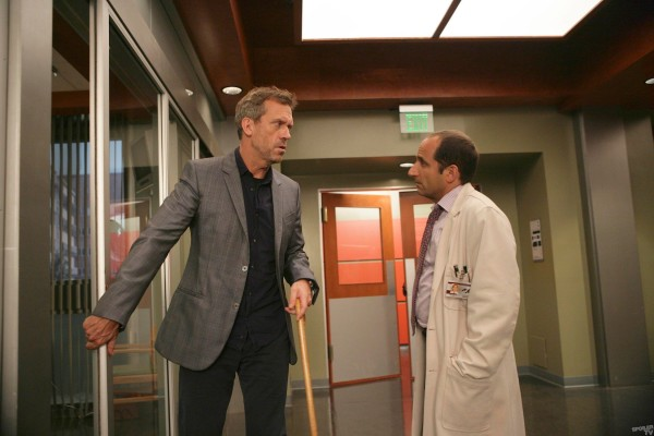 Dr House : Photo Hugh Laurie, Peter Jacobson