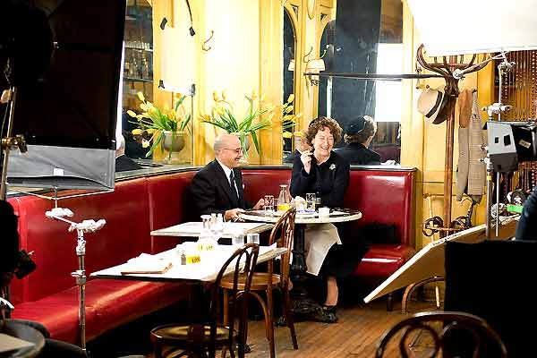 Julie et Julia : Photo Meryl Streep, Nora Ephron, Stanley Tucci