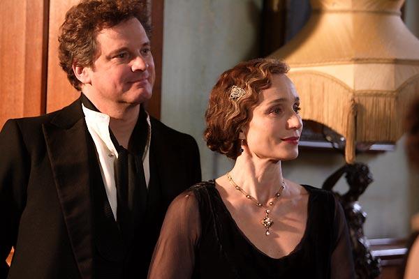 Colin Firth et Kristin Scott Thomas