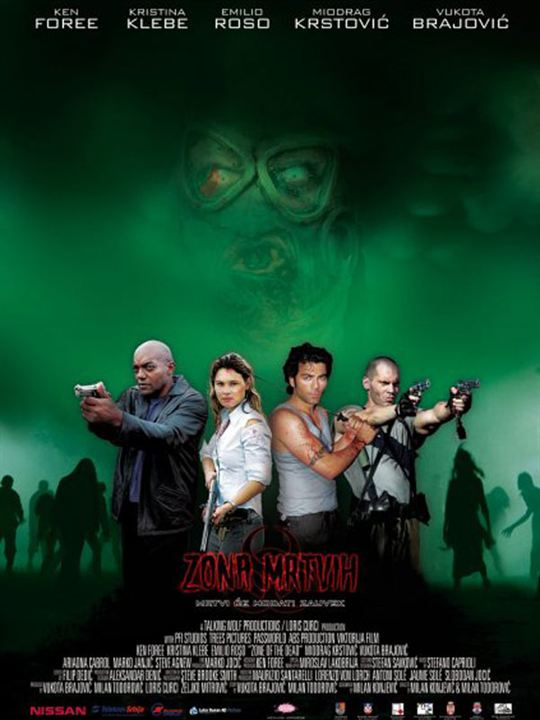 Zone of the Dead : Affiche Milan Konjevic, Milan Todorovic