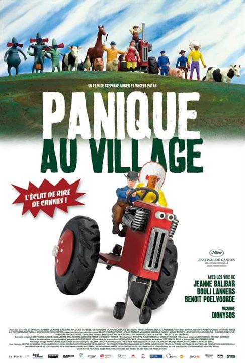 Panique au village : Affiche Stéphane Aubier, Vincent Patar