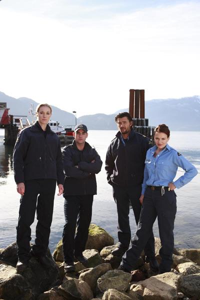 The Guard : police maritime : Photo Jeremy Guilbaut, Sonya Salomaa, Steve Bacic, Zoie Palmer