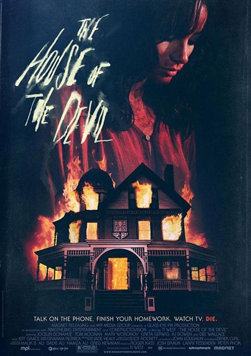 The House of the Devil : Affiche Ti West