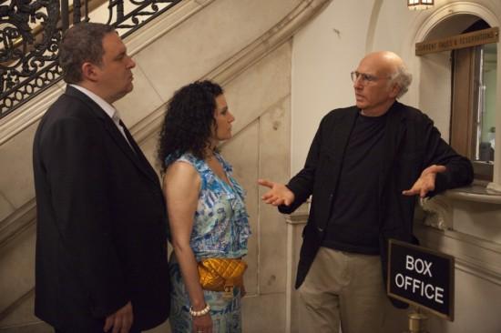Photo Jeff Garlin, Larry David, Susie Essman