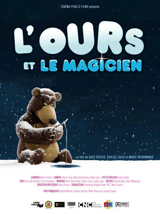 L'Ours et le magicien : Affiche Evald Lacis, Maris Brinkmans
