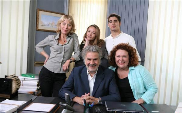 Le Tuteur : Photo Alice Chenu, Anne-Marie Pisani, Jean-Pierre Sanchez, Roland Magdane, Valérie Leboutte