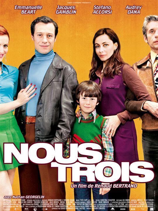 Nous trois : affiche Renaud Bertrand