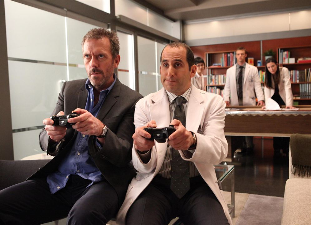 Photo Hugh Laurie, Peter Jacobson