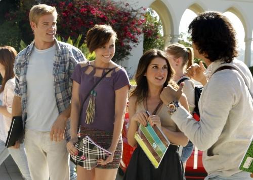 90210 Beverly Hills Nouvelle Génération : Photo Jessica Stroup, Michael Steger, Shenae Grimes-Beech, Trevor Donovan