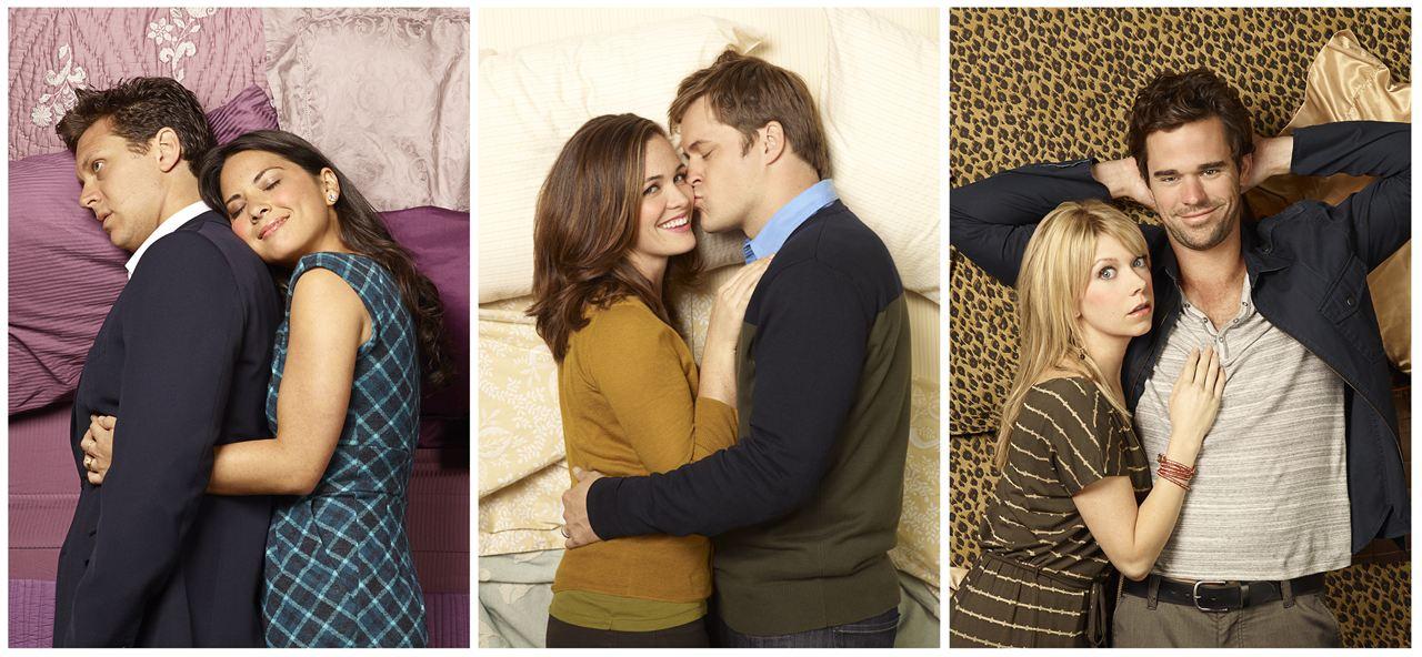 Perfect Couples : Photo Christine Woods, David Walton, Hayes MacArthur, Kyle Bornheimer, Mary Elizabeth Ellis