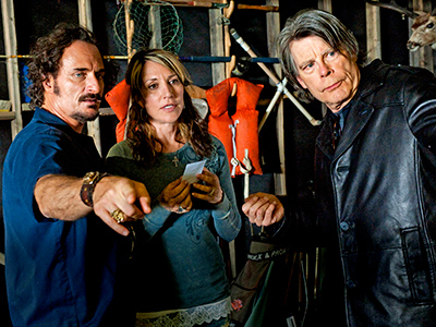 Sons of Anarchy : Photo Katey Sagal, Kim Coates, Stephen King