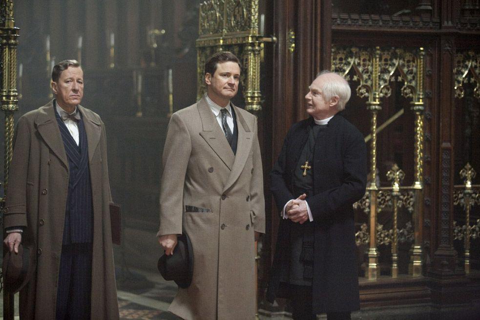 Le Discours d'un roi : Photo Colin Firth, Derek Jacobi, Geoffrey Rush