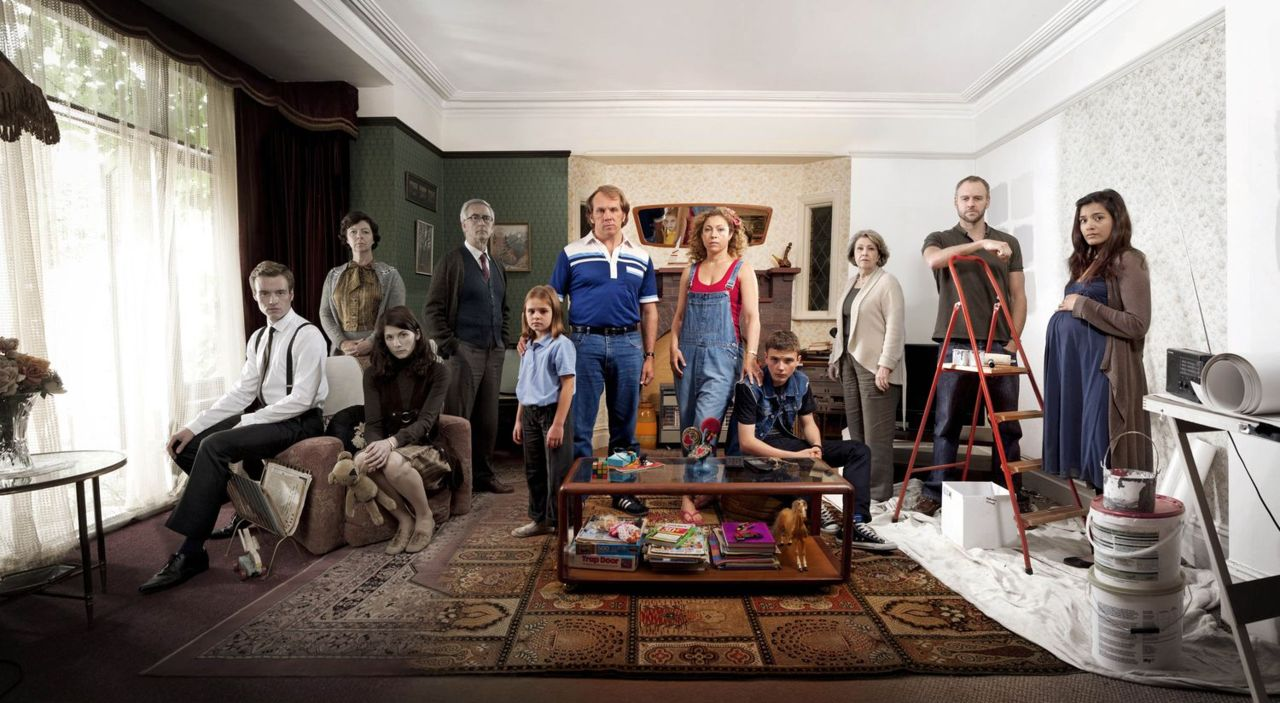 Marchlands : Photo Alex Kingston, Anne Reid, Dean Andrews, Denis Lawson, Elliot Cowan