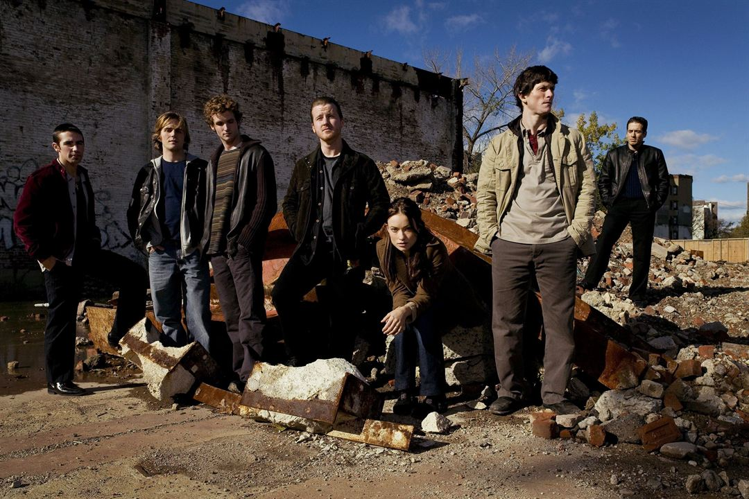 The Black Donnellys : Photo Billy Lush, Jonathan Tucker, Keith Nobbs, Kirk Acevedo, Michael Stahl-David