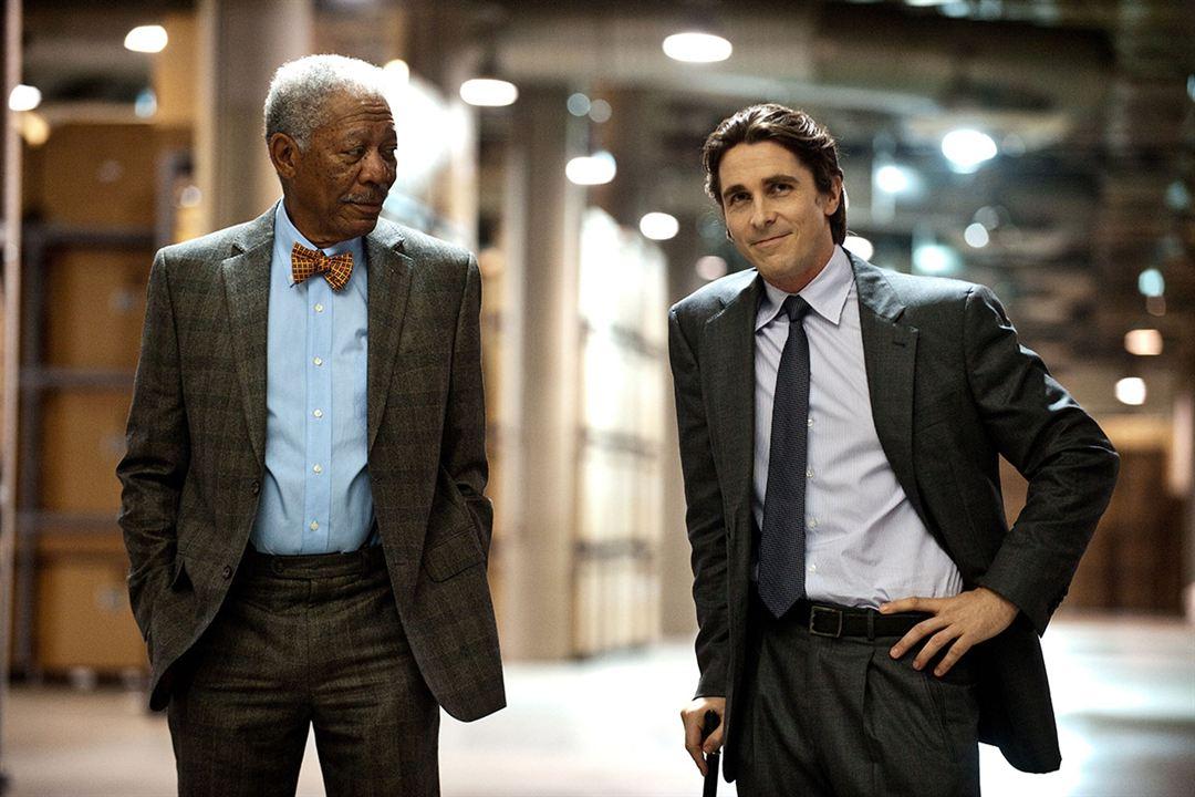 Morgan Freeman & Christian Bale