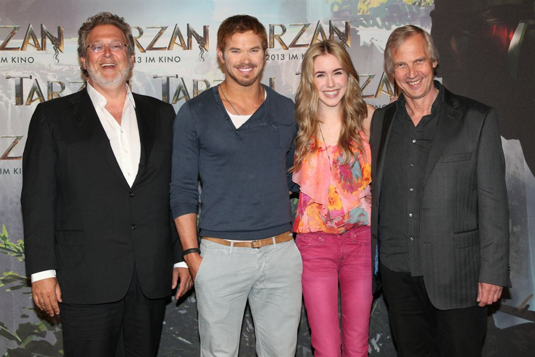 Tarzan : Photo promotionnelle Kellan Lutz, Reinhard Klooss, Spencer Locke
