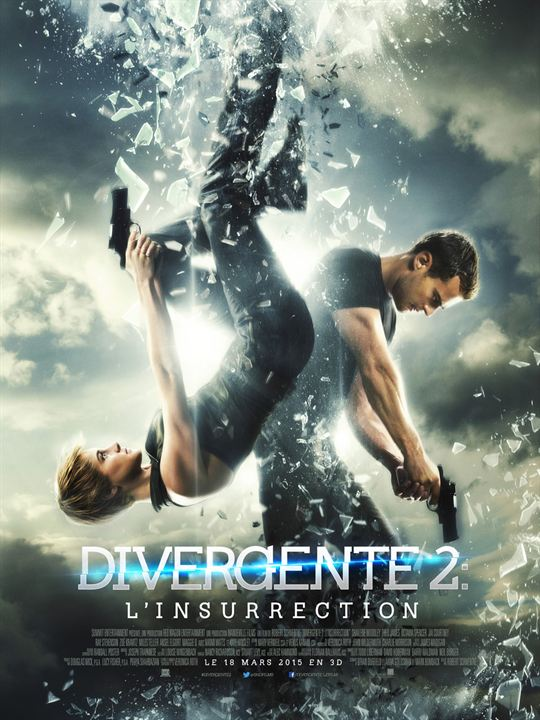 Divergente 2 : l'insurrection - Sortie le 18 mars 2015