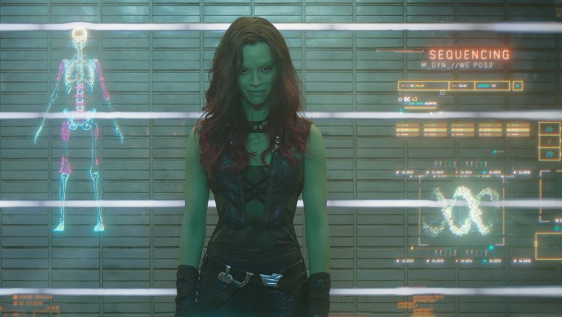 """Zoe Saldana alias """"Gamora"""""""