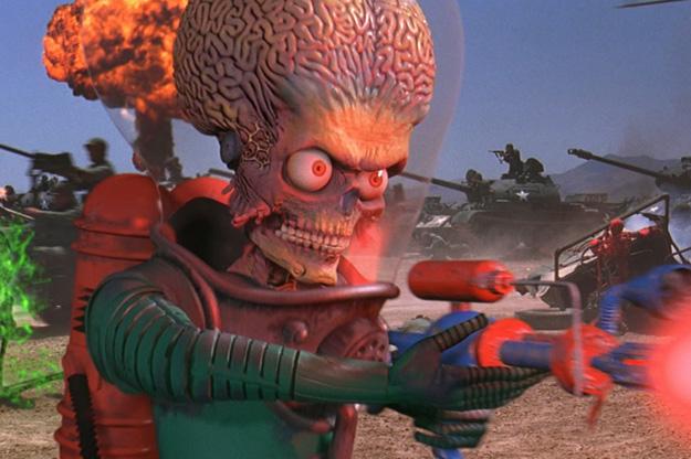 La méthode blaster (Mars Attacks!)