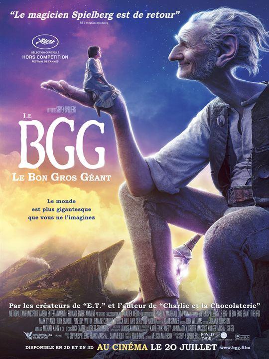 Le BGG – Le Bon Gros Géant - Sortie le 20 juillet 2016
