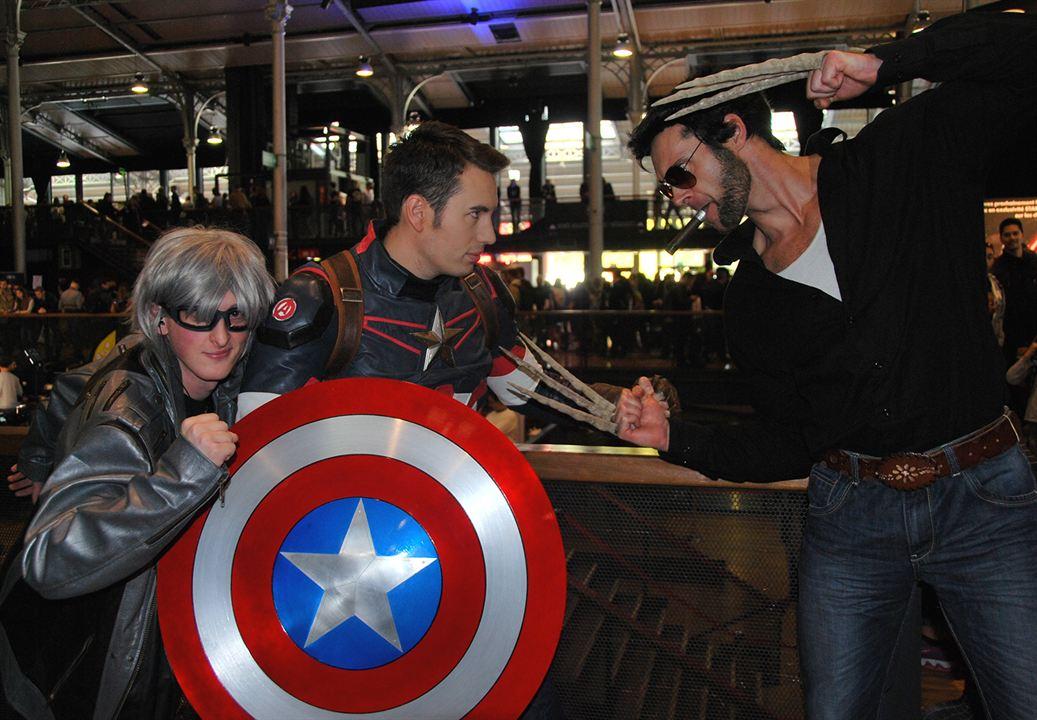 Cosplay au Comic Con Paris 2016