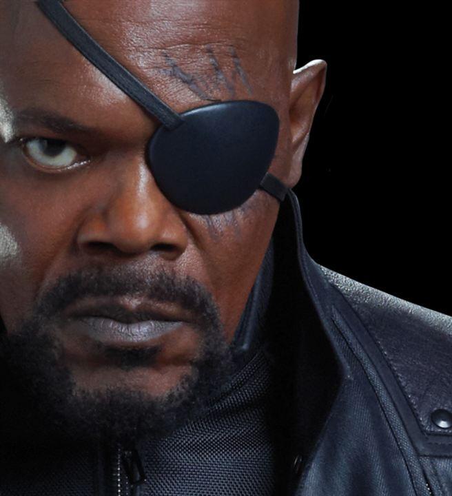 Bouc savamment négligé de Samuel L. Jackson alias Nick Fury