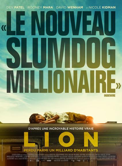 Lion avec Dev Patel - Sortie le 22 février 2017