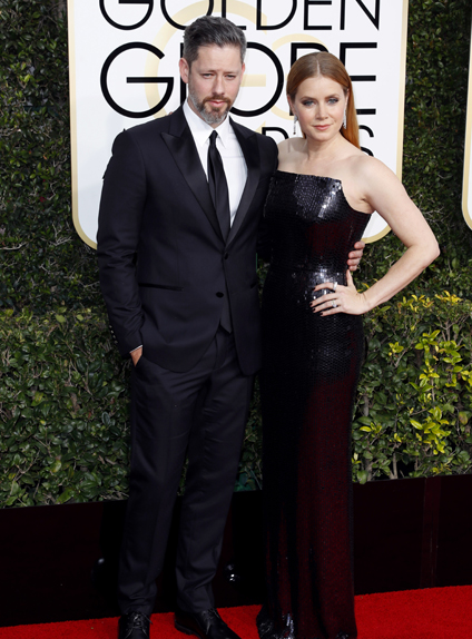 Amy Adams et son mari Darren Le Gallo