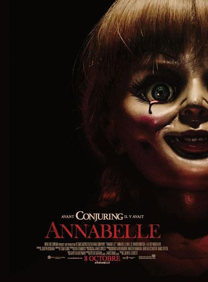 L'affiche du premier épisode d'Annabelle