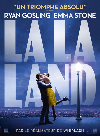 N°5 - La La Land : 7,4 millions de dollars de recettes