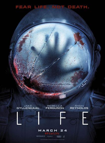 """Life - Origine inconnue"" avec Jake Gyllenhaal, Ryan Reynolds et Rebecca Ferguson"