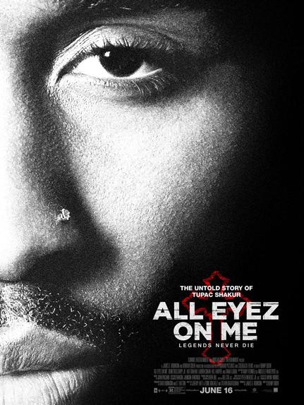 N°5 - All Eyez On Me : 5,85 millions de dollars de recettes