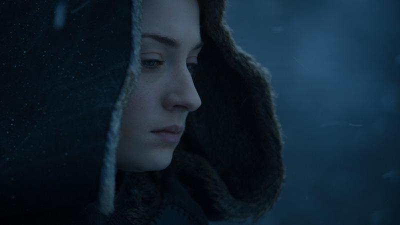 Sansa pensive à Winterfell
