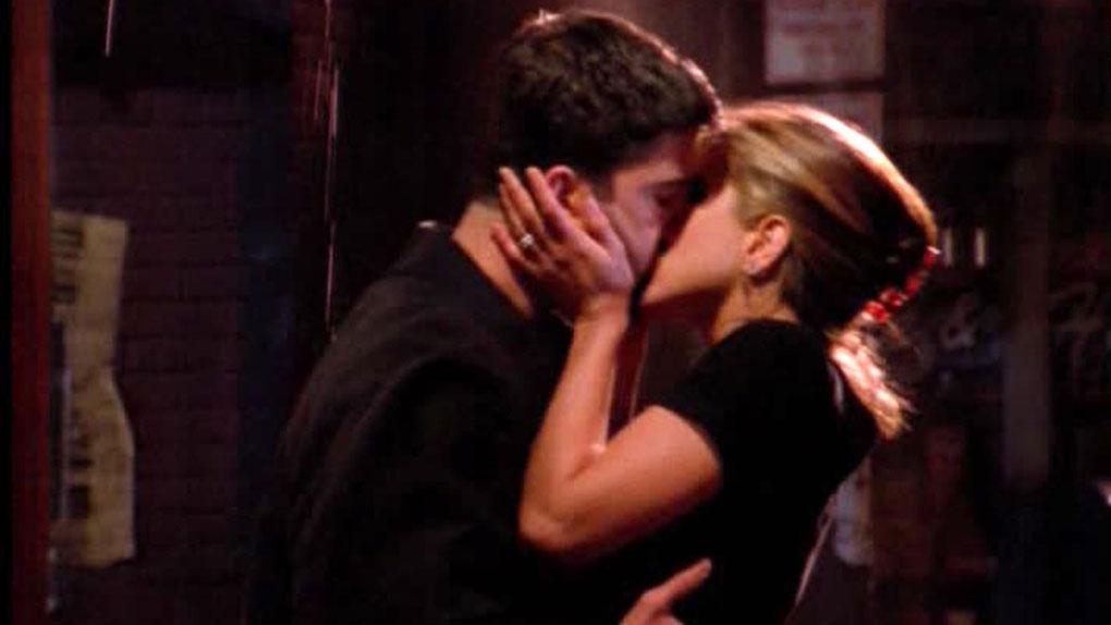 "Rachel & Ross dans ""Friends"""
