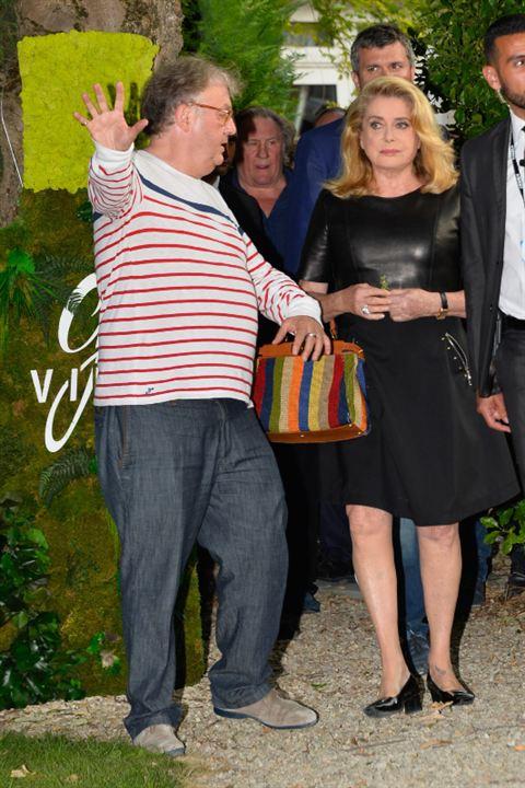 Dominique Besnehard, Catherine Deneuve et Gérard Depardieu