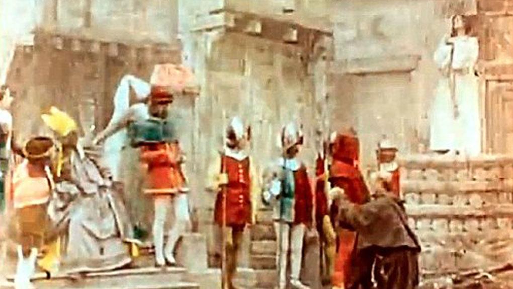 """""""L'Exécution de Jeanne d'Arc"""" de Georges Hatot (1898)"""