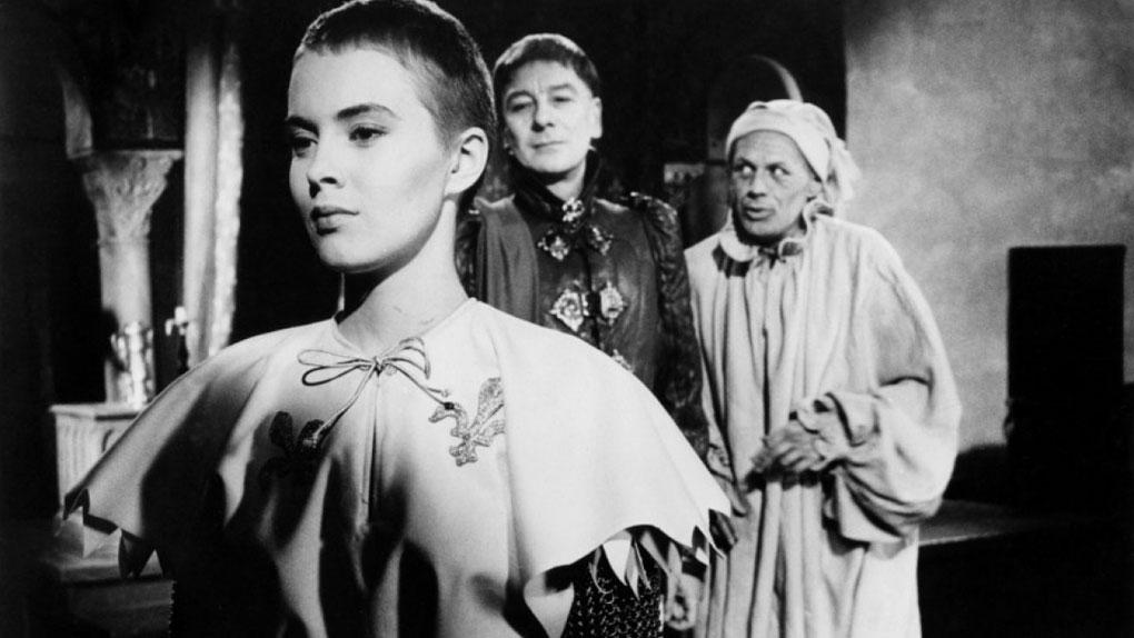 "Jean Seberg dans ""Sainte Jeanne"" d'Otto Preminger (1957)"