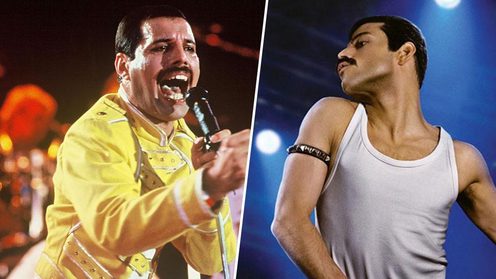 Freddie Mercury, interprété par Rami Malek