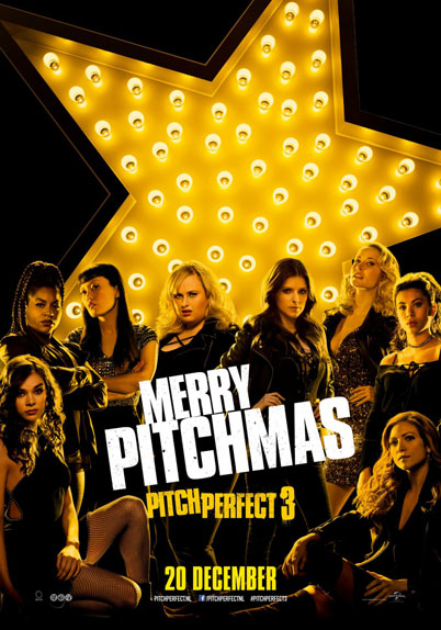 Pitch Perfect 3 dde Trish Sie avec Anna Kendrick, Rebel Wilson, Hailee Steinfeld...