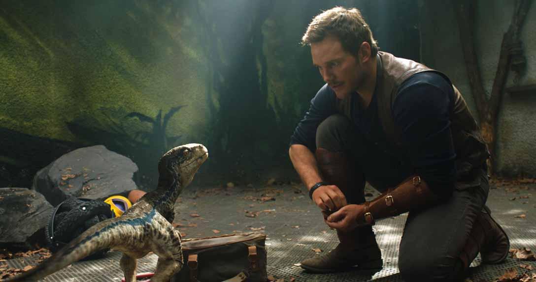 Jurassic World: Fallen Kingdom de Juan Antonio Bayona avec Chris Pratt, Bryce Dallas Howard, Jeff Goldblum...