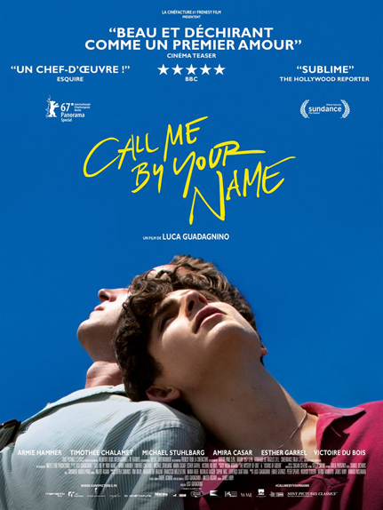 Call Me By Your Name - 3 nominations