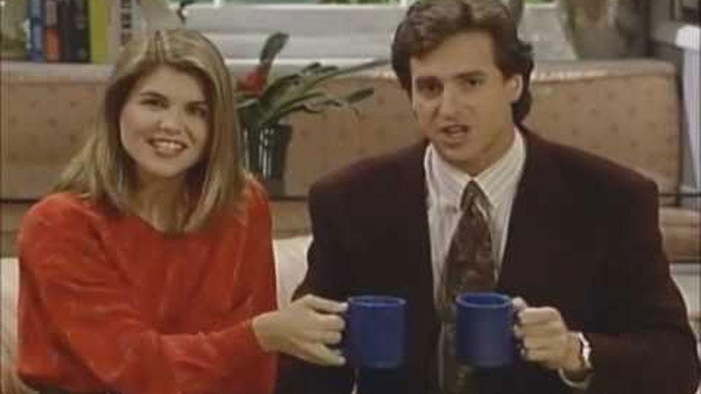 """Rebecca et Danny dans """"La Fête à la maison"""""""