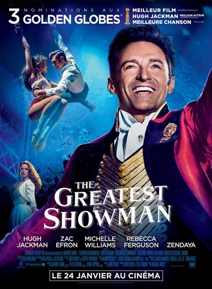 N°5 - The Greatest Showman : 11,8 millions de dollars de recettes