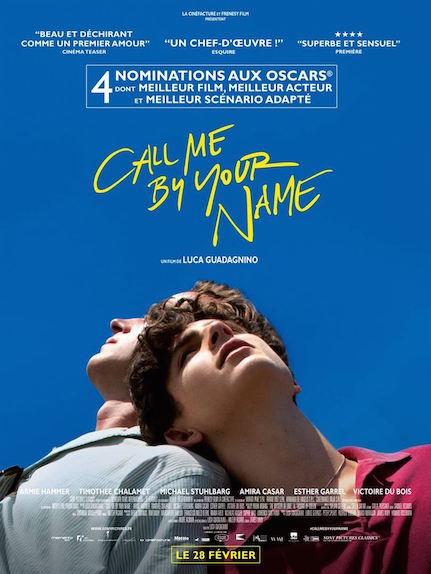 Call Me By Your Name : Oscar du meilleur scénario adapté