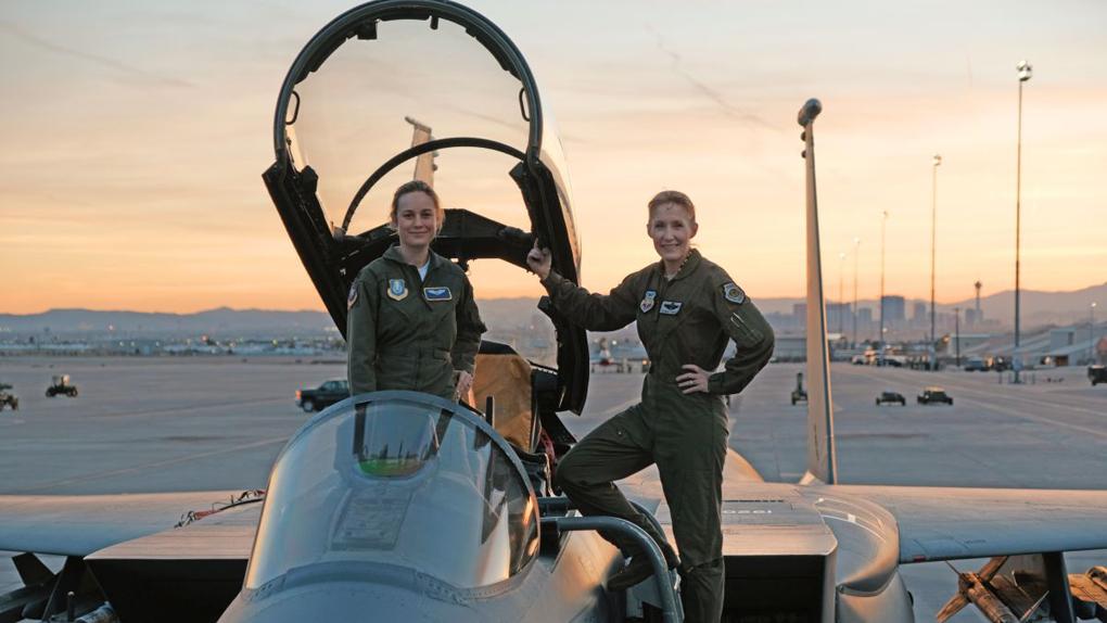 Captain Marvel : Brie Larson parée au décollage !