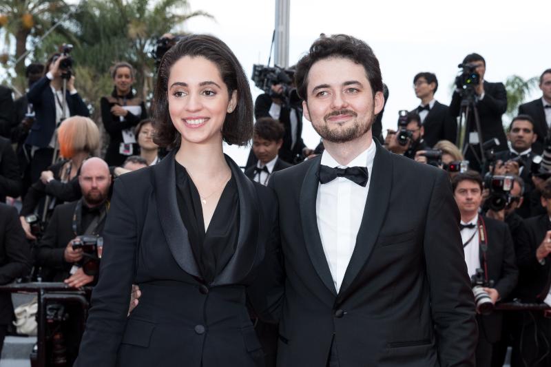 Le réalisateur Abu Bakr Shawky et la productrice Elisabeth Shawky-Arneitz sur le tapis rouge de Yomeddine