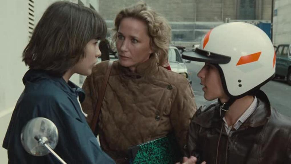 """Brigitte Fossey alias Françoise Beretton dans """"La Boum"""""""