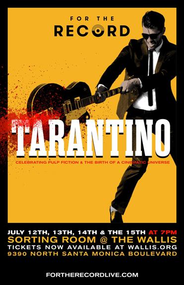 For the Record : une comédie musicale consacré à l'univers de Tarantino